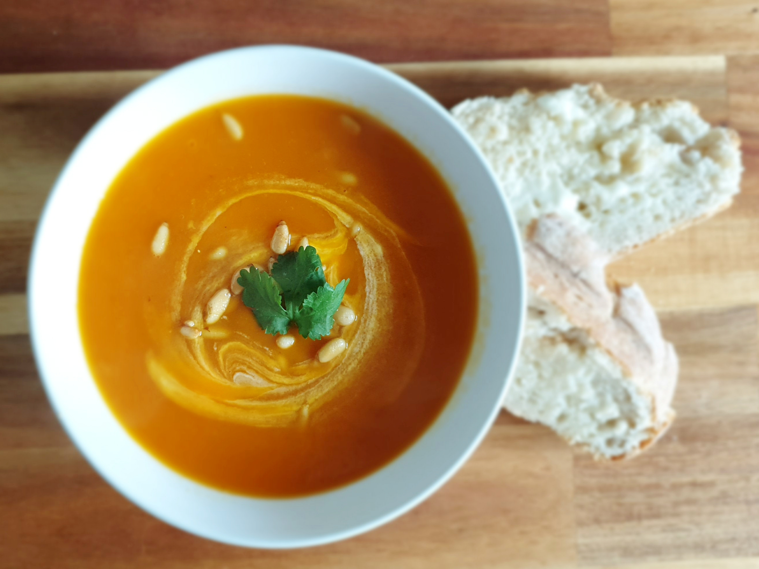 Spicy Sweet Potato And Carrot Soup Soup Maker Recipe